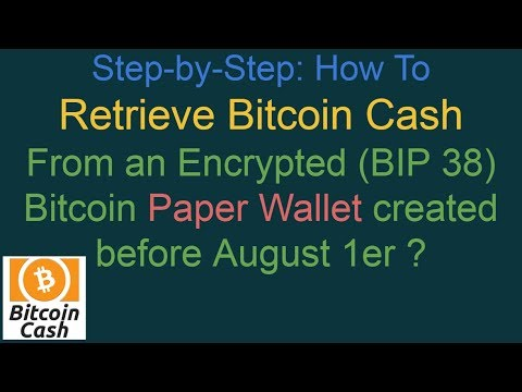 How to recover my bitcoin cash