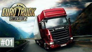 Euro Truck Simulator 2 - Pogadajmy w trasie z Berlina #1