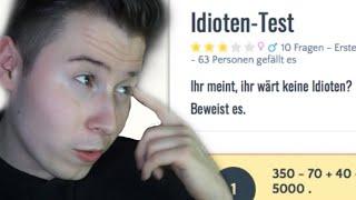 IDIOTENTEST - ich teste mich selbst!😂