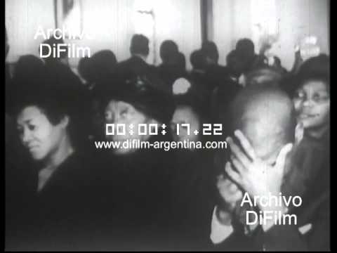 DiFilm - Funeral Albert Luthuli in Rhodesia (1967)