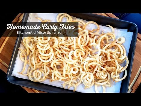 How To Make Curly Fries Kitchenaid Stand Mixer