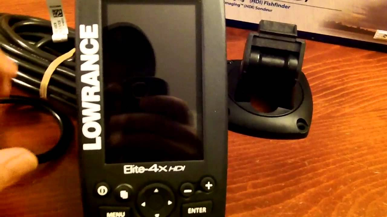 Unboxing Amp Comments On The Lowrance Elite 4x Hdi Fish