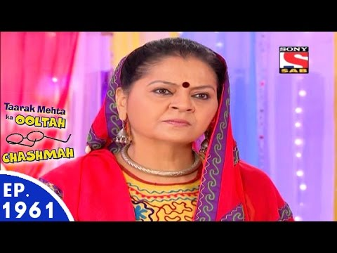 Taarak Mehta Ka Ooltah Chashmah - तारक मेहता - Episode 1961 - 17th June, 2016