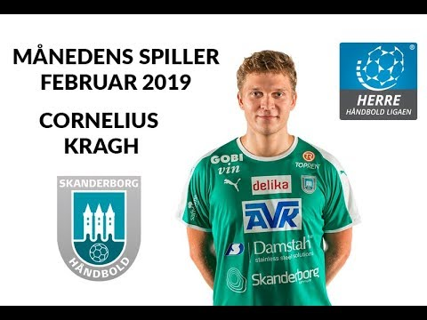 Februar Måneds Spiller Cornelius Kragh Herre Håndbold Ligaen