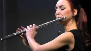 """К. В. Глюк. Мелодия из оперы """"Орфей и Эвридика"""". Кристина Лях (флейта)."""