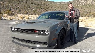Review: 2019 Dodge Challenger Scat Pack Widebody (Manual)