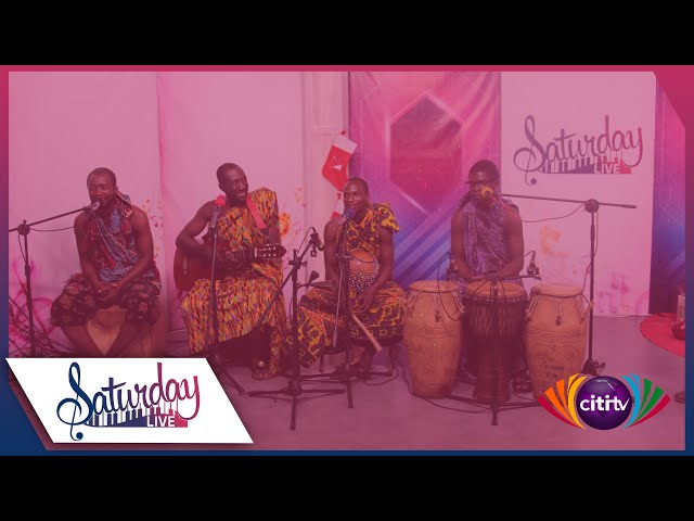 Saturday Live - Time with Kwan Pa, Pipers and Nii Musick