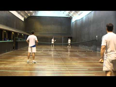 Real Tennis Exhibition Match 21 May 2011 @ Seacour