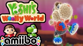 Yoshi's Woolly World PART 6 Gameplay Walkthrough 2 Player (Animal Crossing Villager Amiibo) Wii U
