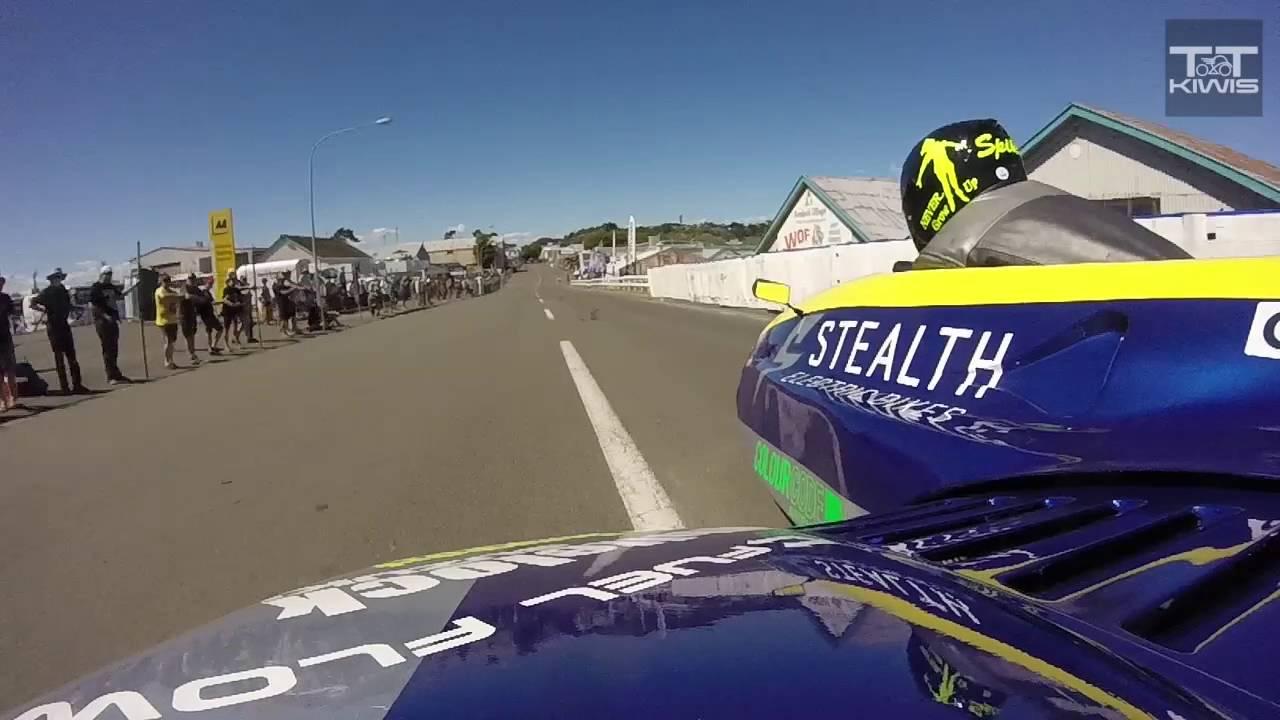 Spike Taylor/Astrid Hartnell - Modern Sidecar - Race 2 - Cemetery Circuit  2015