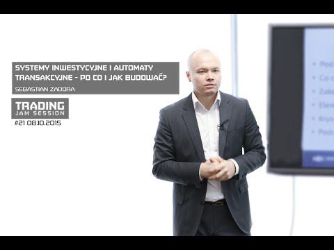 Systemy inwestycyjne i automaty transakcyjne, Sebastian Zadora, #21 TJS 08.10.2015