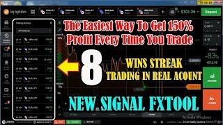 Iq option winning strategy - target of 150% profit whit fxtool new signal - trading in real account