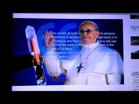 Pope Francis Gives Support To RFID Chip Implantation