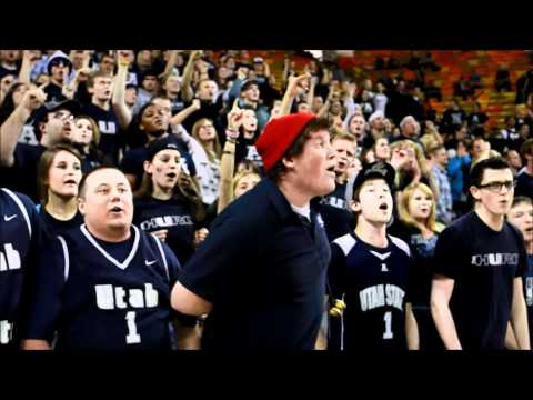 "Utah State University (USU) Students ""I Believe"" Chant"