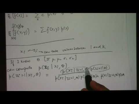 Lecture 35 - Expectation Maximization (04/28/2017)