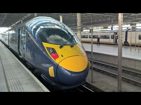 British High Speed Rail - London St Pancras to Ashford International
