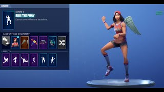 Fortnite - Ride The Pony (ALL MY SKINS)