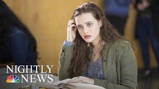 Netflix Series On Teen Suicide Sparks Conversation, Concern | NBC Nightly News