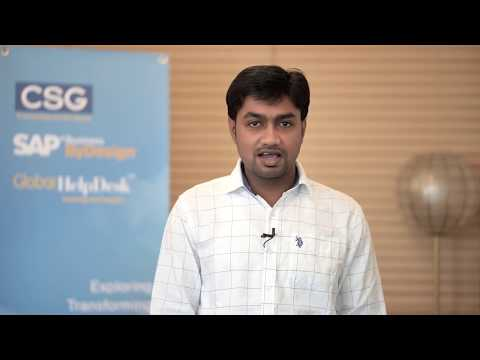 SAP Bydesign Demo:  Managing Customer Calendar Across The Timezones For Global Management By CSG
