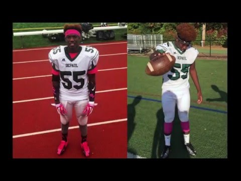 Nigil Thomas 2015 Highlights - #55 DePaul Catholic High School