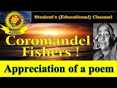 3 1 Coromandel Fishers 9th English Appreciation Of A Poem Youtube