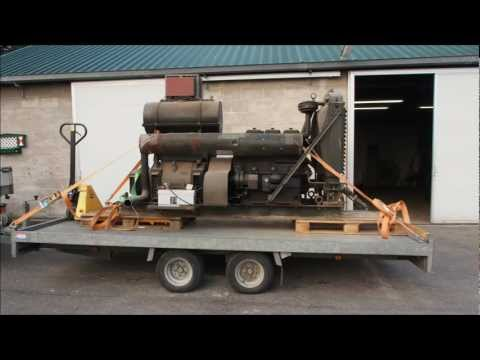 R.A. Lister & Co 27/3 - JP3 - Generator 17,7 kVA - cold - low rpm - 1941