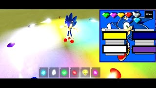 Roblox sonic universe rp all chaos emeralds location