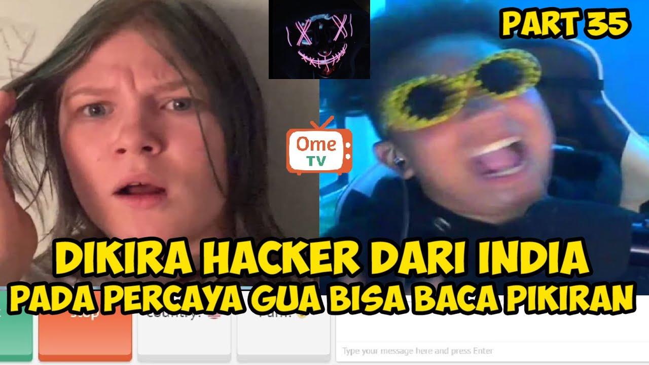 H4CKER BACA PIKIRAN ORANG DI OME TV    PRANK OME TV INTERNASIONAL #35