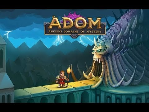 ADOM (Ancient Domains Of Mystery) | Gameplay | 2018 |