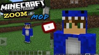 Como Hacer Zoom🔭En Minecraft Pe 1.5.0 - MODS - (Blocklauncher)👉Descarga E Instala👈  Súper Util