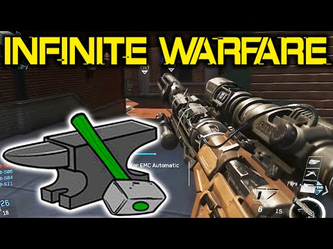 How To CRAFT WEAPONS in Infinite Warfare - NEW Crafting Prototype Feature!