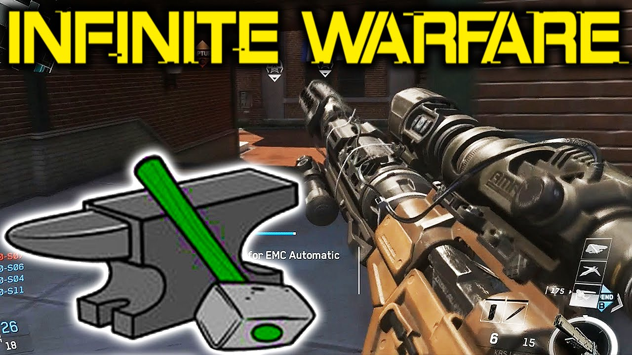 How To CRAFT WEAPONS in Infinite Warfare - NEW Crafting ...