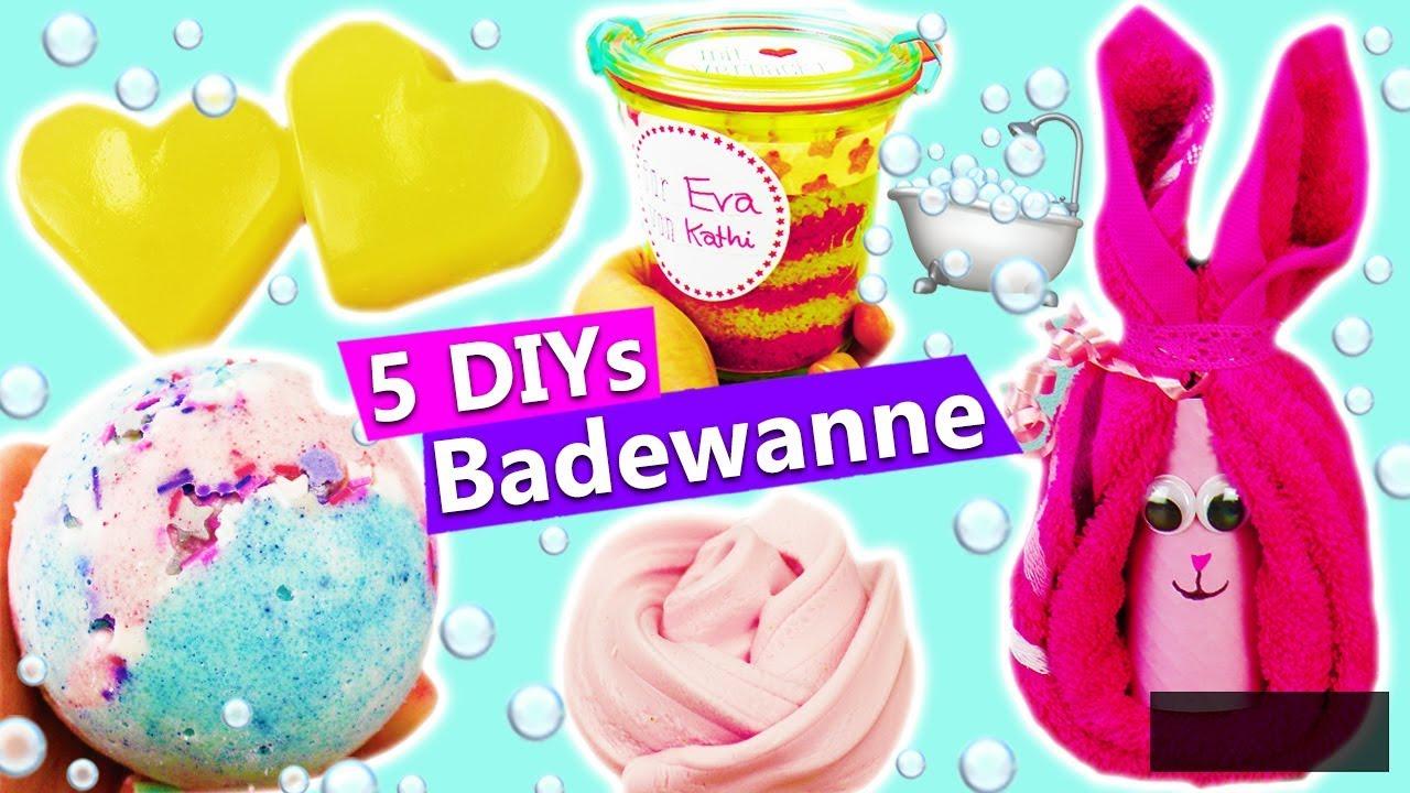 5 Diy Ideen Für Die Badewanne Geschenke Selber Machen Badebombe