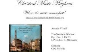Play Trio Sonata For 2 Violins & Continuo In G Minor, Op. 1/1, RV 73
