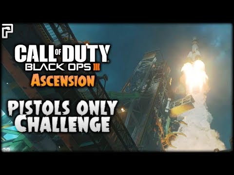 Didn't Expect THIS! | Pistols ONLY Challenge | Ascension (Call of Duty Black Ops 3 Zombies)