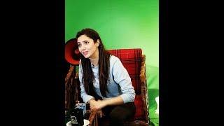 Mahira Khan & Haroon Shahid behind the camera for Verna Movie Promotion