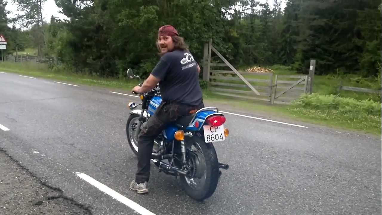Kawasaki 750 H2 1972 - YouTube