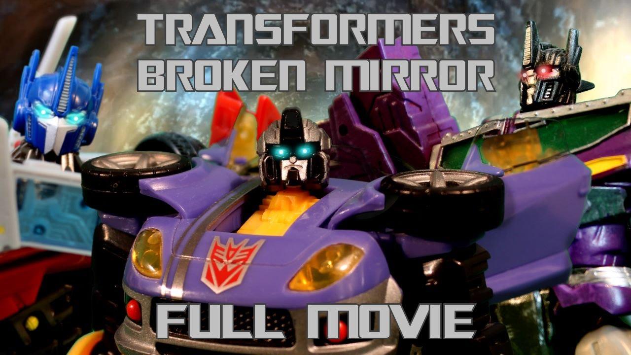Download Transformers: Broken Mirror - FULL MOVIE   Transformers Stop Motion Animated Film