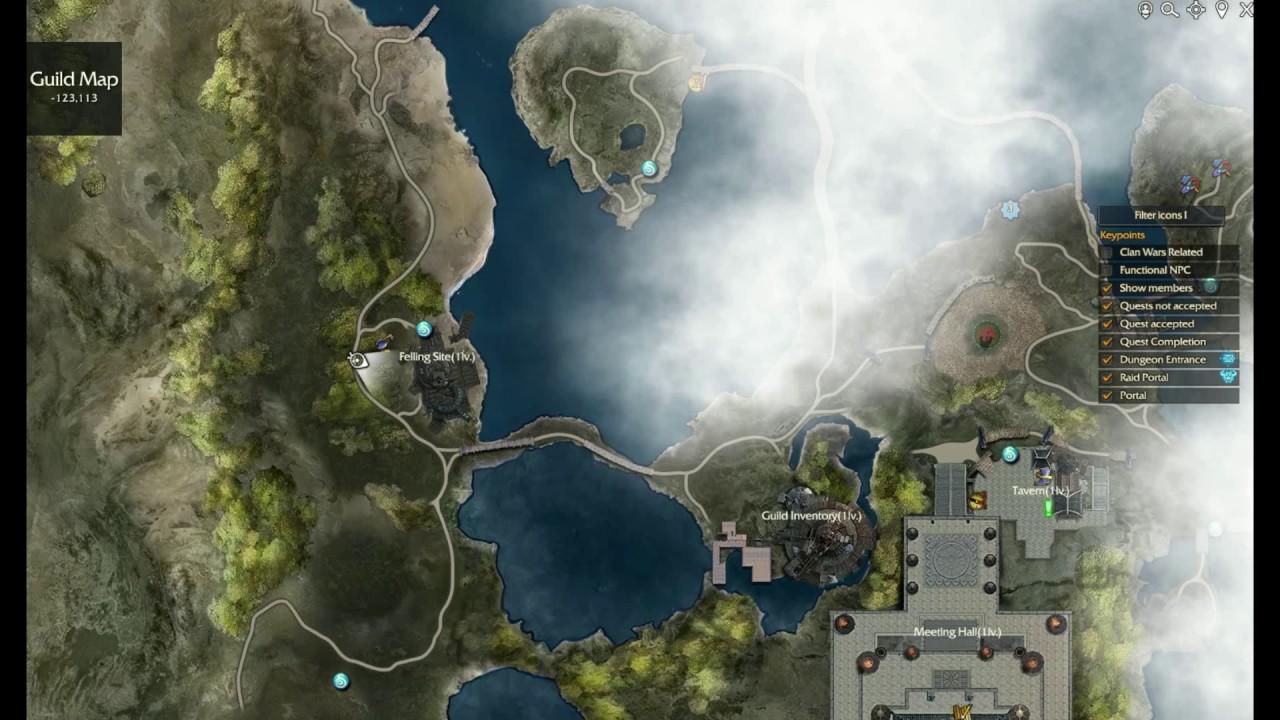 guild base blue quest