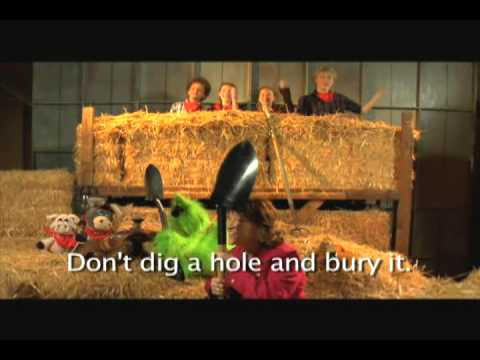 DONT DIG A HOLE- Music By Mary Rice Hopkins- Puppets By Darcie Maze