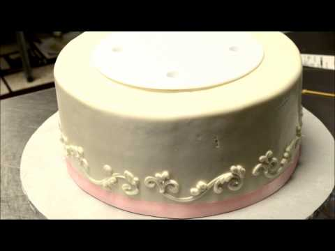 Make a Three Tier Wedding cake on your own