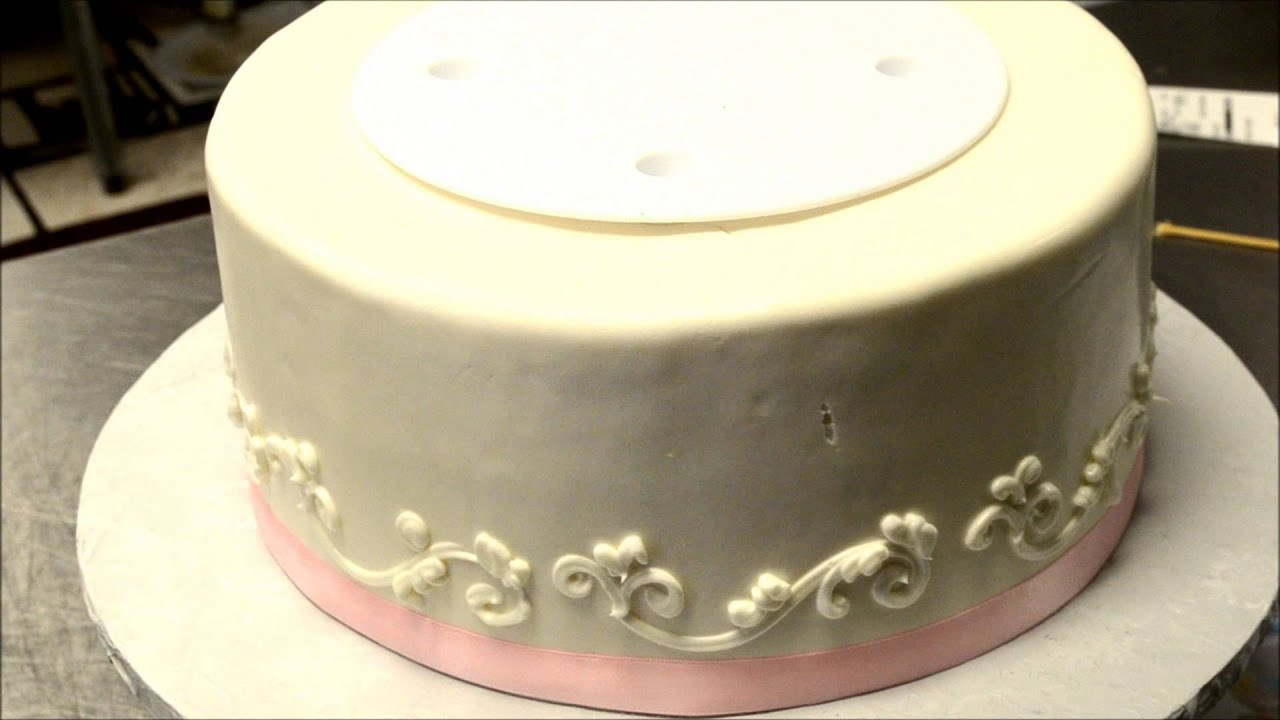 Make a Three Tier Wedding cake on your own - YouTube