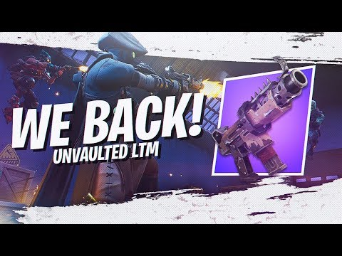 OLD MYTH IS BACK! *NEW* UNVAULTED LTM GAMEPLAY (Fortnite Battle Royale Season 7)