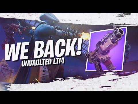 OLD MYTH IS BACK! *NEW* UNVAULTED LTM GAMEPLAY (Fortnite Battle Royale Season 7)