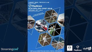 2018 PlayBrave Australian Real Tennis Open - Day 7 LIVE STREAM