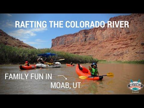 Colorado River Rafting in Moab, Utah - Perfect Family Vacation