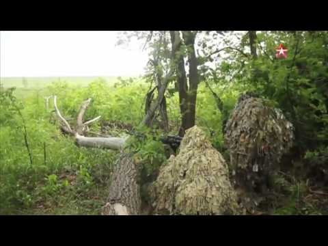 Russian Military Snipers Get Their Stamina and Skills Tested