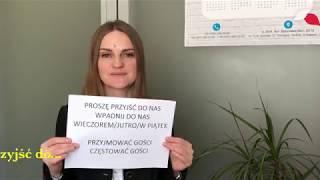 Як домовитись про зустріч! Частина 2. Уроки польської мови