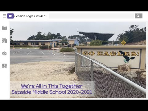 We're All In This Together    Seaside Middle School