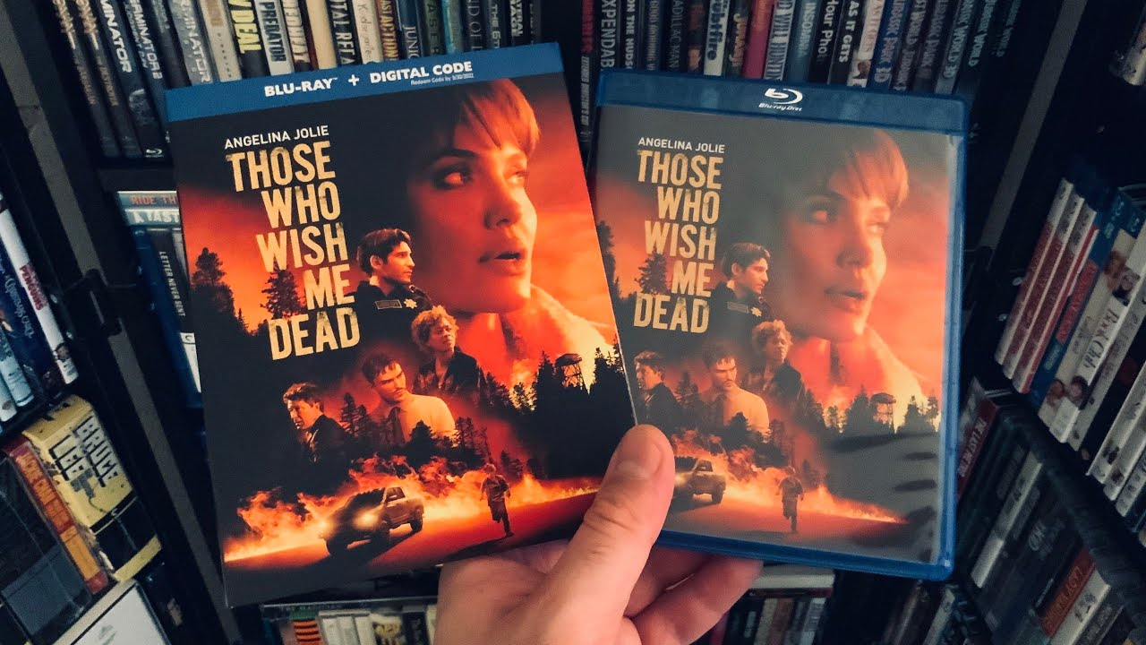 Those Who Wish Me Dead BLU RAY REVIEW + Unboxing   Angelina Jolie